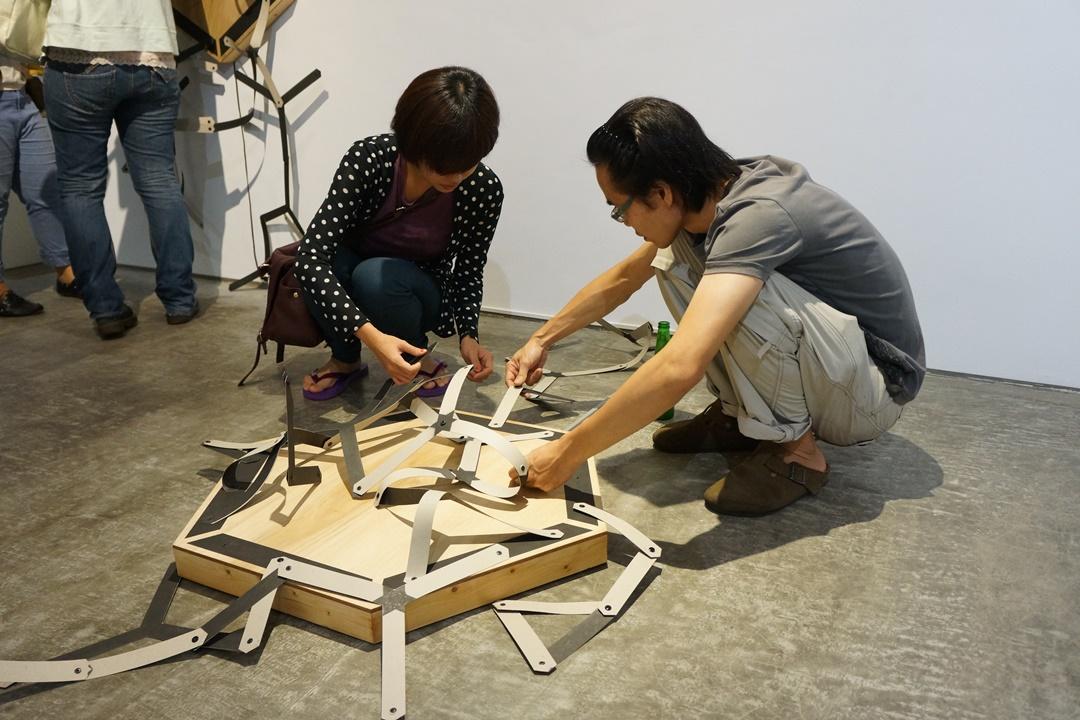 曾偉豪 TSENG Wei-Hao / 延聲 Expending Sound/2013/聲音互動裝置/空間尺寸