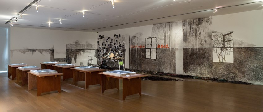 高俊弘,《廢墟影像晶體計畫》空間照一景,誠品畫廊,台北,台灣,2013