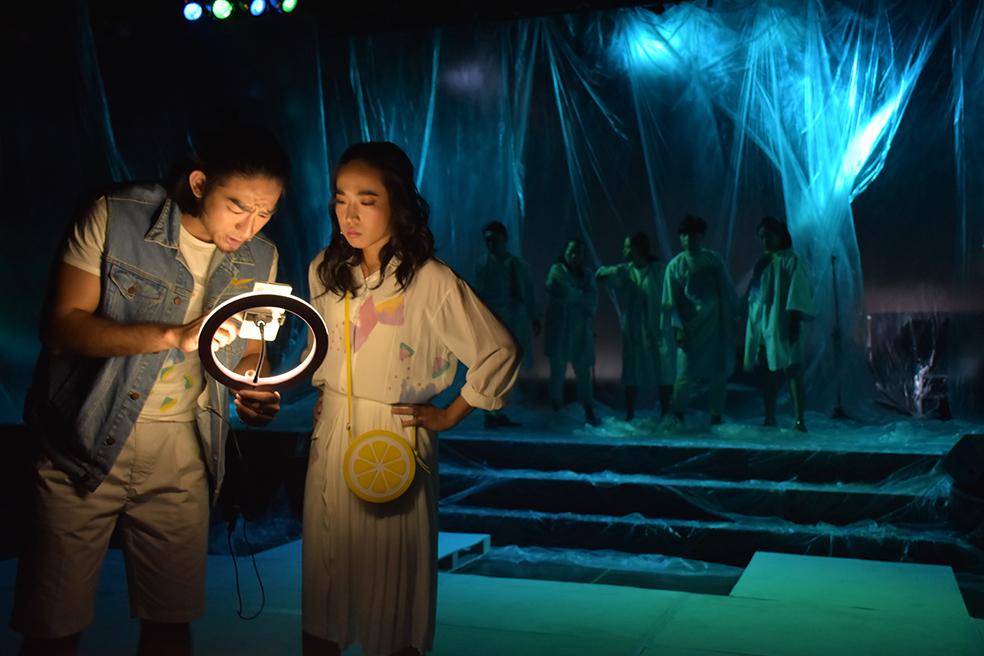 《鬼母病棟三○八》上半場試演會劇照    攝影:管翊翔  照片提供  台北表演藝術中心