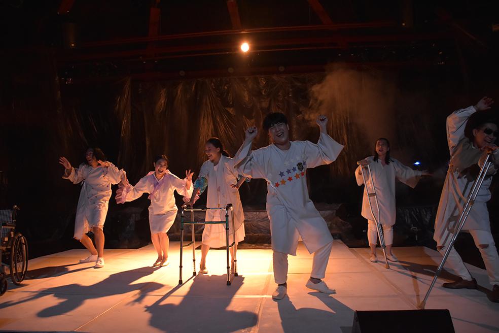 《鬼母病棟三○八》上半場試演會劇照    攝影:管翊翔  照片提供  台北表演藝術中心-2
