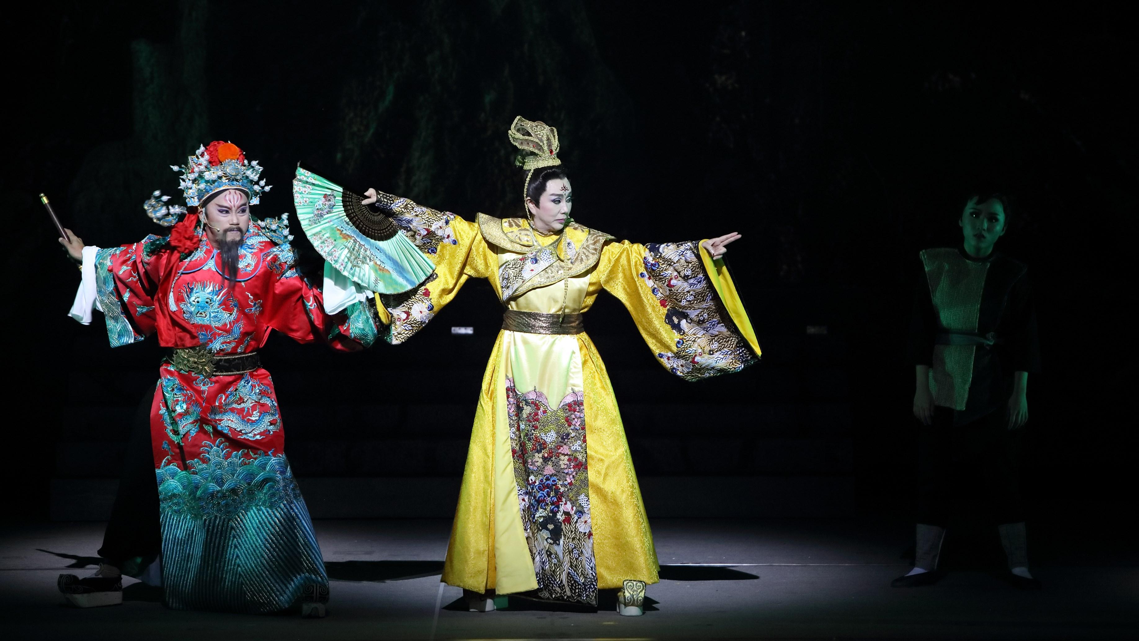《鯤鯓平卷》劇照   照片提供│明華園戲劇總團        攝影│徐欽敏
