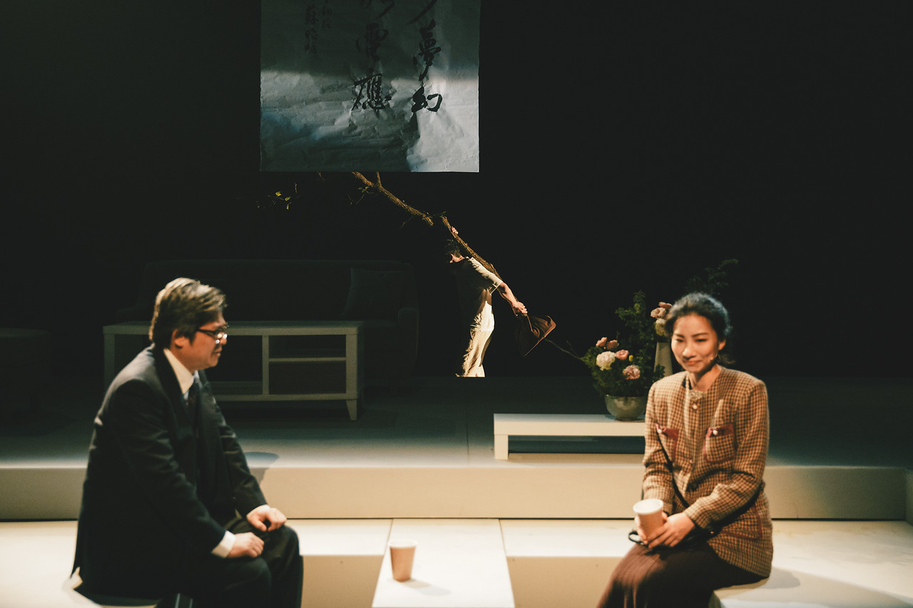 右起:黃母、黃父、蘇父        攝影|小川先生      照片提供|創劇團