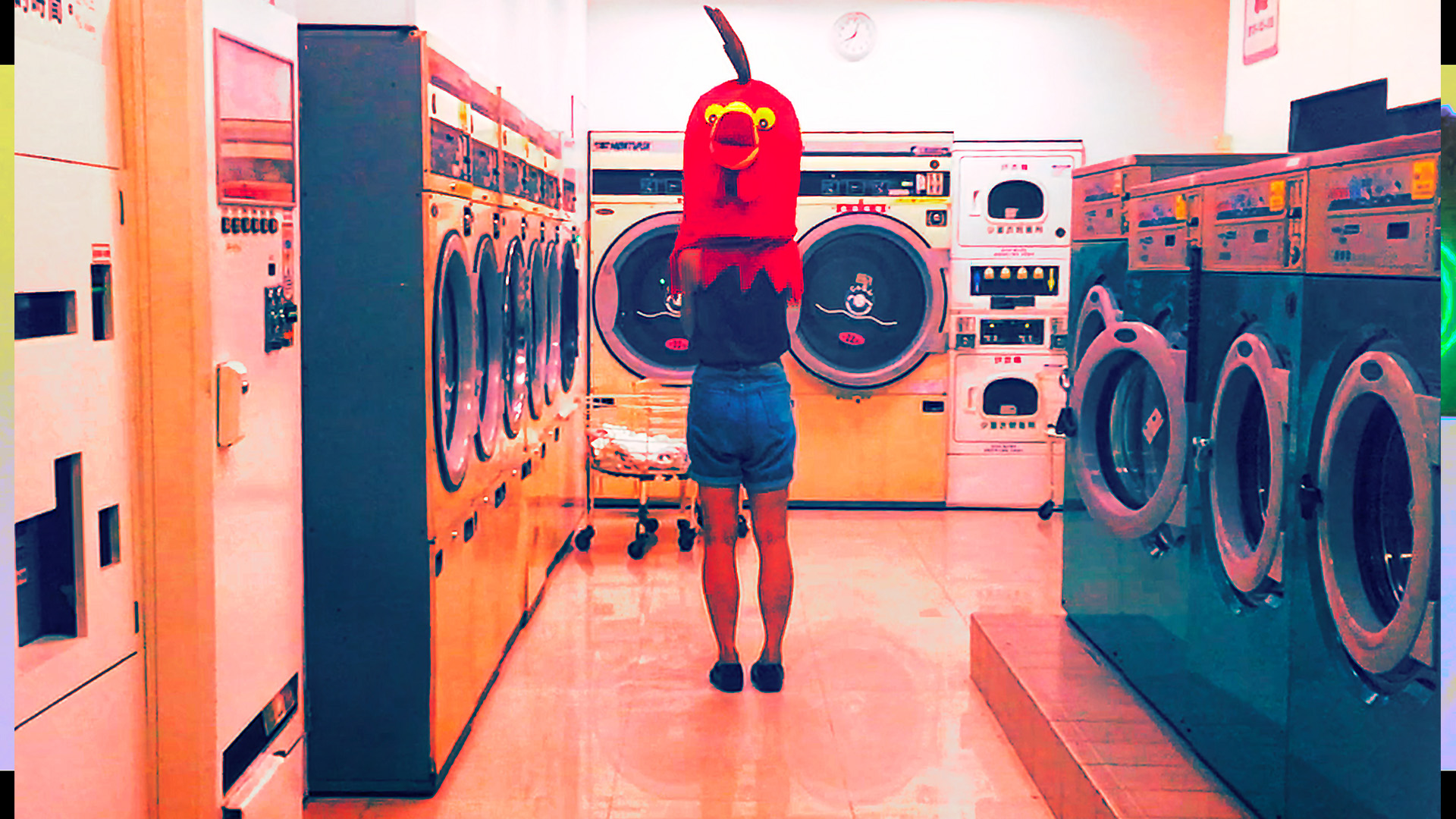 賈茜茹《這是一個在自助洗衣店的故事》