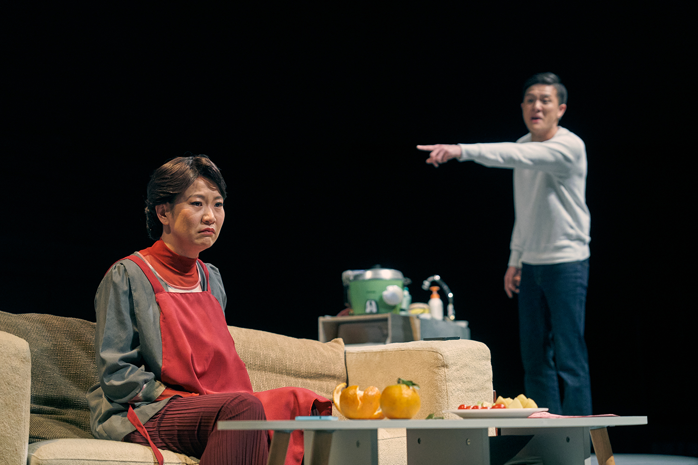 《年夜飯》劇照,攝影 陳又維
