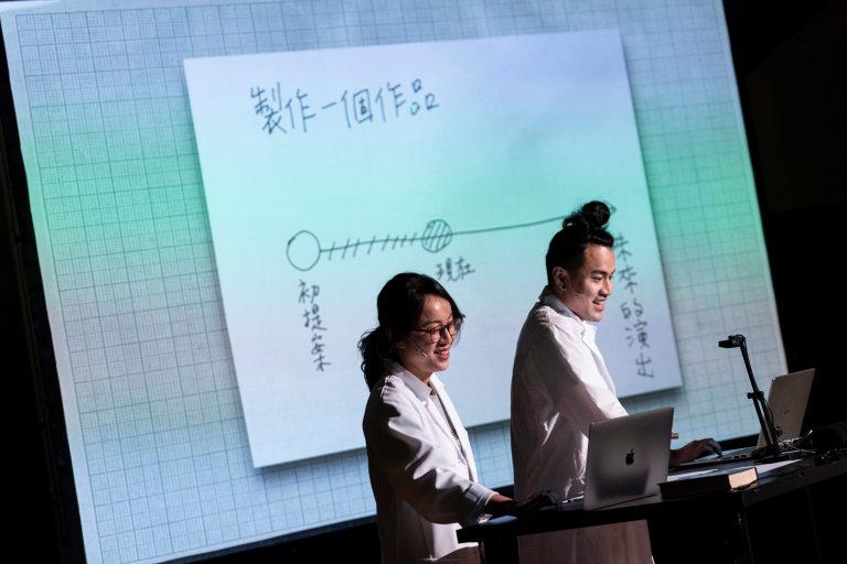 《祖母悖論》演出照片      攝影|李欣哲      圖片提供|洪千涵、洪唯堯